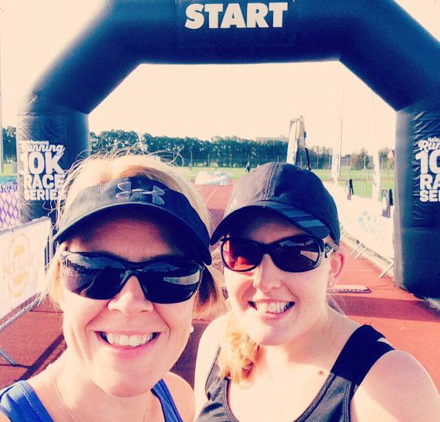 A fun pacing event with my lovely friend
