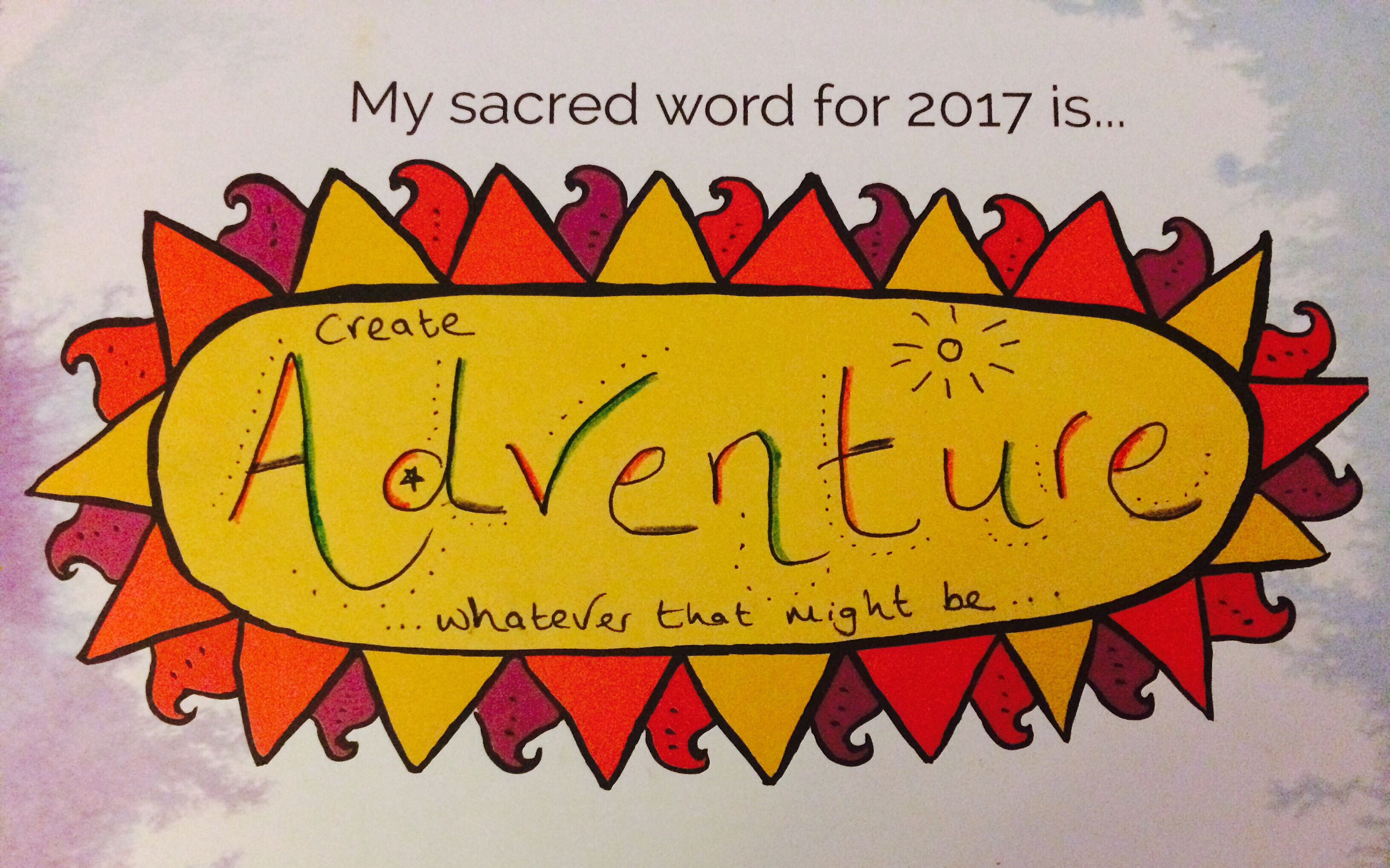 My favourite quote - which I've written in my 2017 training journal - is