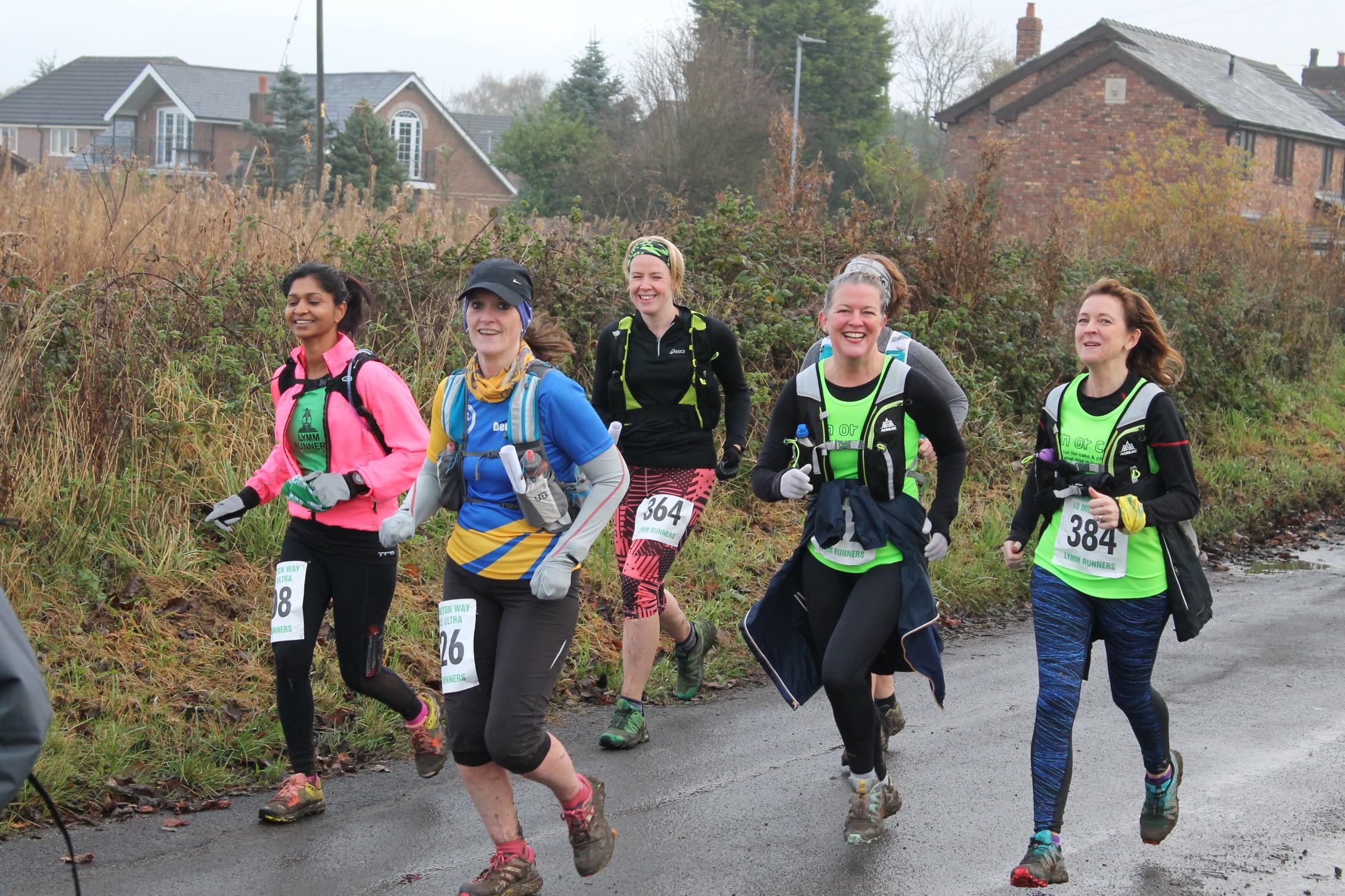 Warrington Way Group run